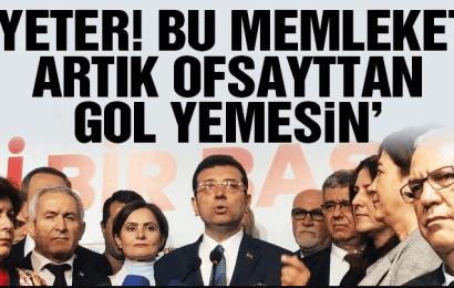 """Ekrem İmamoğlu, """"O zaman iki ayda bir seçim yapalım"""""""