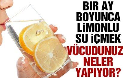 Limonlu Su İçmenin Faydaları Nelerdir?