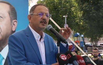 Mehmet Özhaseki Pensilvanya'ya Mektup Yazmış