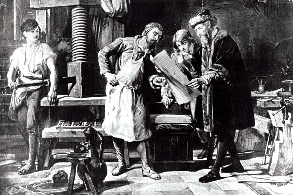 Gutenberg-Buchdruck1