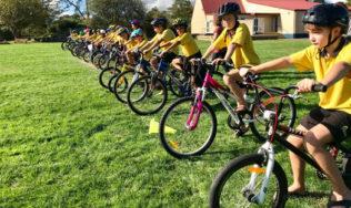 'Kids on Bikes' training starts next week in 8 local schools