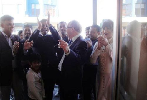 Inauguration of Royal Sweets in 2015