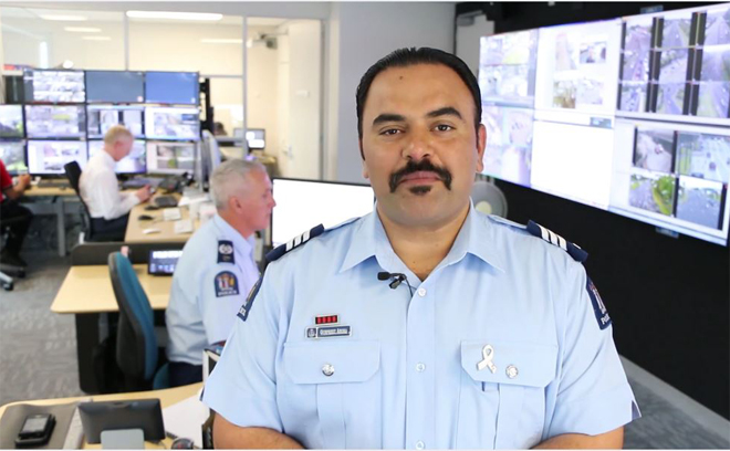 Royal recognition for Sergeant Arora for service to Police, communities
