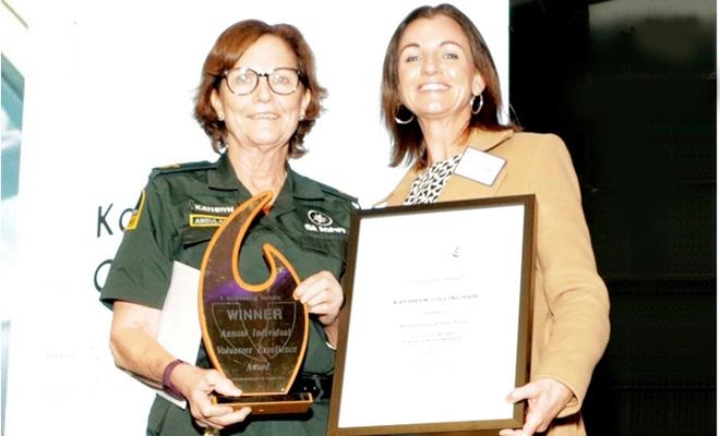 Volunteering Waikato honours volunteers; Kathryn wins 'Excellence' Award 2021