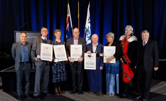 Five awarded top honours