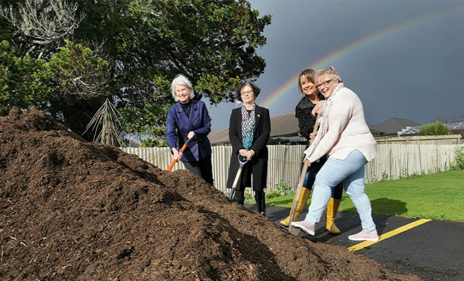 City's food waste compost is pot of gold for community group