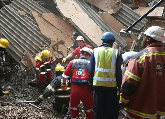 Hospital Roof Collapsed In South Africa
