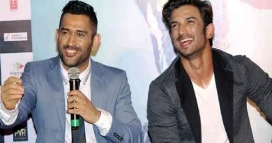 Sushant surprised Dhoni with his helicopter shot