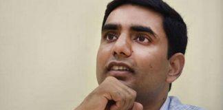 Ganta Shock to Nara Lokesh, Newsxpressonline