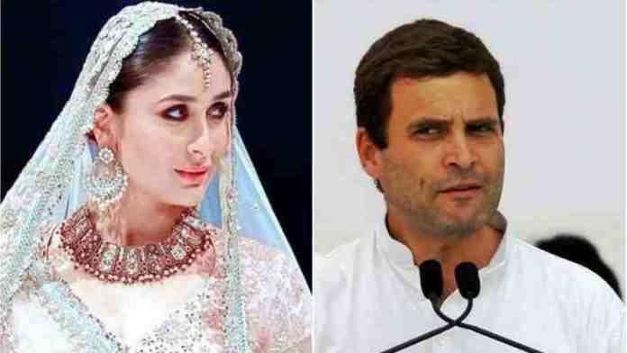 Kareena-Rahul-Gandhi