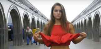 dress removed by girl