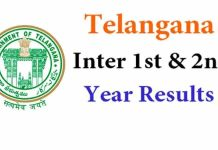 telangana inter result