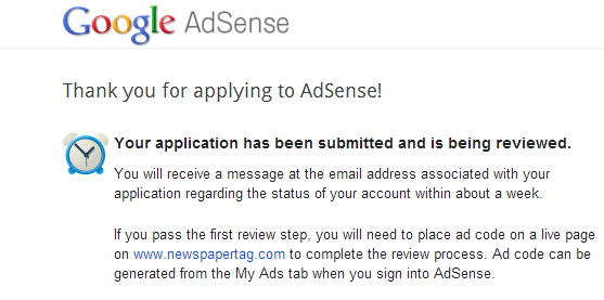 ads resubmition