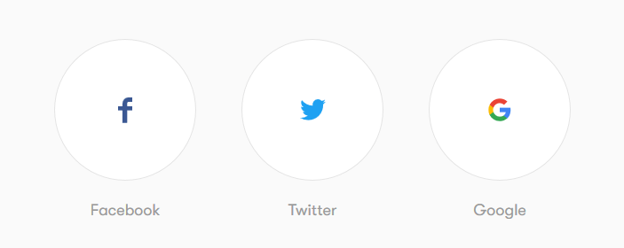Social account alternative