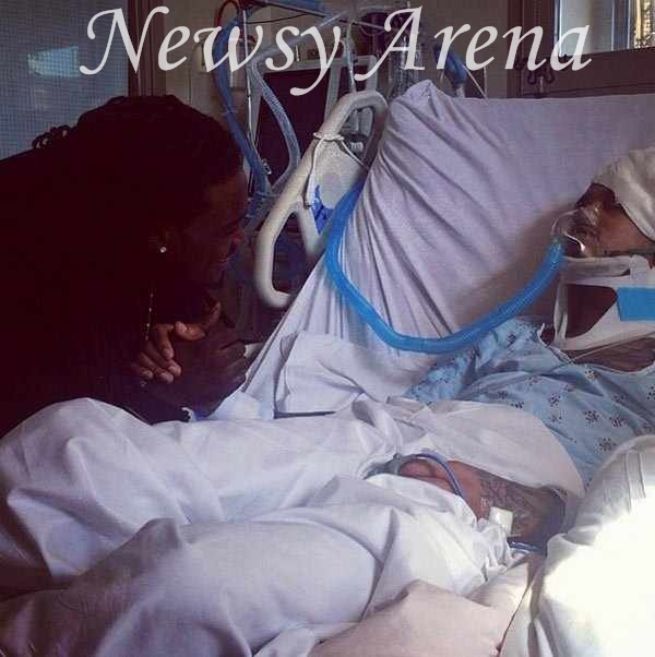 august alsina wakes from coma