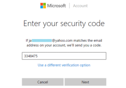Unblock Microsoft Account