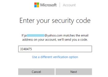 Unblock Microsoft Account