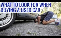 Buying A Used Car Checklist