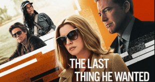the last thing he wanted movie poster