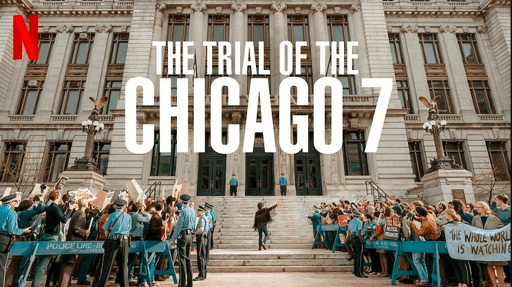 The Trial of the Chicago 7 Movie (2020) Download + Watch Online   English   720p