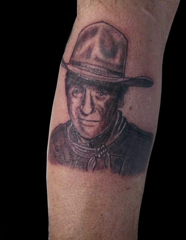 Tatouage John Wayne - John Wayne tattoo