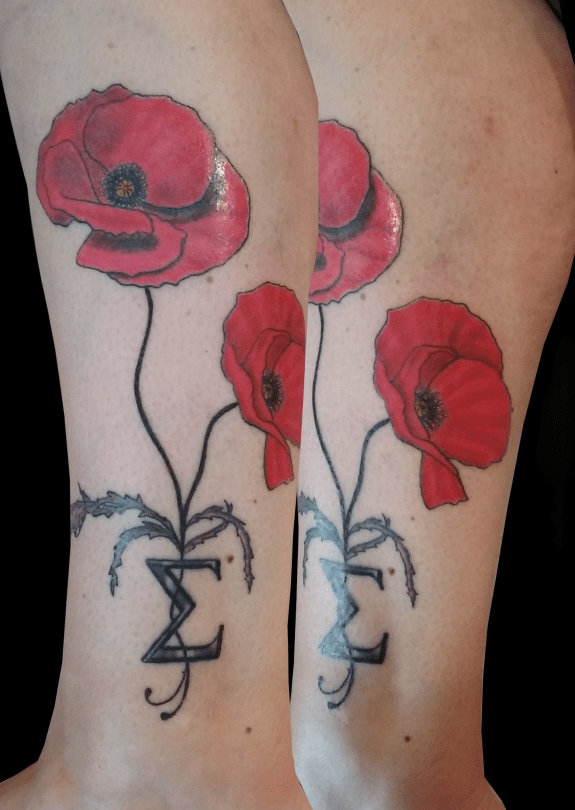 Poppys Tattoo - Tatouage Coquelicots