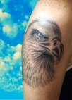 Eagle tattoo - Tatouage Aigle