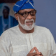 Akeredolu heads to Supreme Court over suit on APC's primary