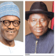 Jonathan warns Buhari against rigging Ekiti poll