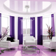 Create strong emotions through purple interiors