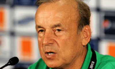 Rohr plans two standing teams for Super Eagles