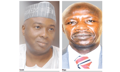 Saraki: Why we couldn't confirm Magu as EFCC boss