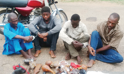 'We killed businessman over N10m, dissected his body for ritual'