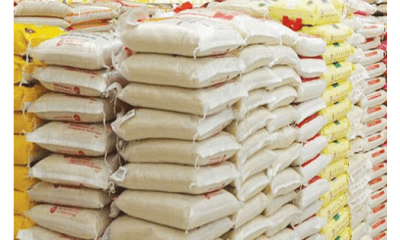 Price of imported rice drops in May