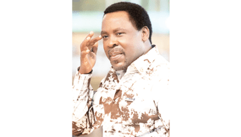 It's too late to stop T B Joshua's move to Israel – Media aide