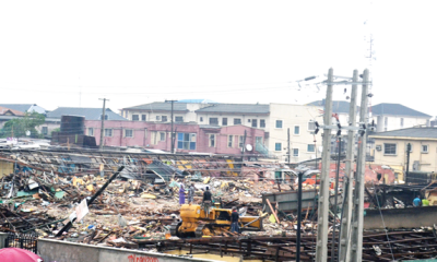 LASG: Blame private developers for Ikorodu Market demolition