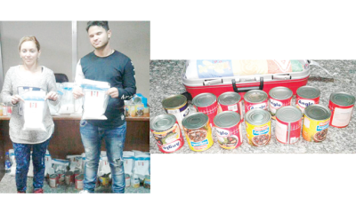 Brazilians held with N310m canned cocaine at MMIA