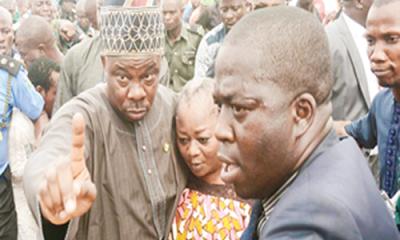 Tension, tears as Adeleke is buried