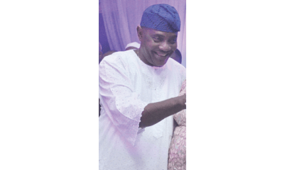 Solomon Arase gives out daughter in marriage