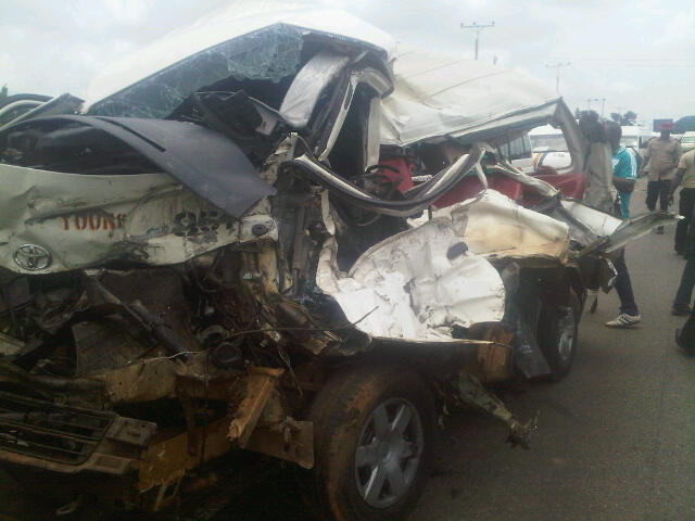 Two hospitalised in Osun auto crash - New Telegraph Newspaper