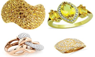 Make bold fashion statement with cocktail rings
