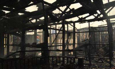 Fire outbreak at FAAN's headquarters
