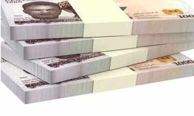 Naira firms at black market as CBN boosts dollar sale