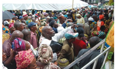 Aggrieved pensioners protest non-payment of arrears, gratuities in Edo