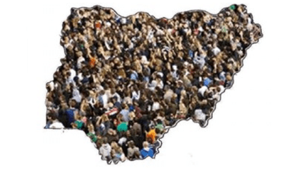 Nigeria's large population's affecting economy