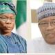 Babangida, Obasanjo fete high society