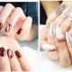 Chic embellished nails