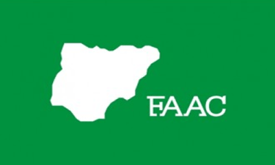FAAC: FG, states, LGs share N769.523bn for July