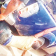 Man chained to patrol van is cultist, violent –Police