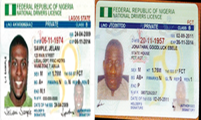 New driver's licence racketeering templates